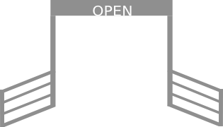 Open Campground Gate